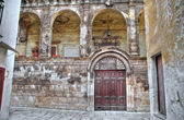 Historical palace. Bitritto. Apulia. — Stock Photo