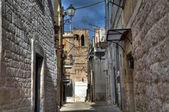 Alleyway. Bitritto. Apulia. — Stock Photo