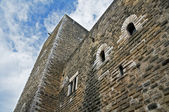норман швабский замок. джоя дель колле. апулия. — Стоковое фото