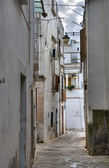 Alleyway. Noci. Apulia. — Stock Photo