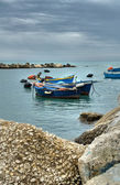 Panoramic view of Molfetta. Apulia. — Foto de Stock