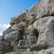 Palaeolithic cave. Matera. Basilicata. — Stock Photo #4589201