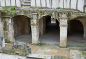 Wykopaliska archeologiczne. matera. basilicata. — Zdjęcie stockowe
