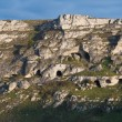 Palaeolithic caves. Matera. Basilicata. — Stock Photo #4593678