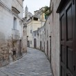 Alleyway. Matera. Basilicata. — Stock Photo #4619352