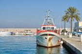 View of Molfetta seaport. Apulia. — Стоковое фото