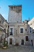 Norman Tower. Rutigliano. Apulia. — Stock Photo