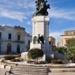 War Memorial. Rutigliano. Apulia. - Stock Photo