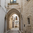 Alleyway. Conversano. Apulia. — Stock Photo