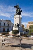 War Memorial. Rutigliano. Apulia. — Photo