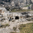Palaeolithic cave. Matera. Basilicata. — Stock Photo #4663139