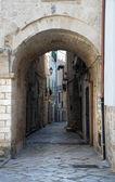 Alleyway. Giovinazzo. Apulia. — Stock Photo