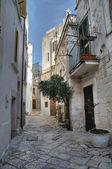 Alleyway. Conversano. Apulia. — Stock Photo