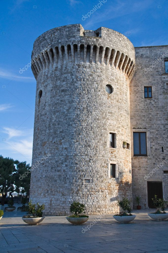 Norman Castle. Conversano. Apulia. — Stock Photo #4717393