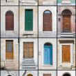 Door Collage. - Stock Photo