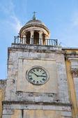 Clocktower. Conversano. Apulia. — Zdjęcie stockowe