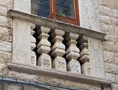 Zabytkowy balkon. — Zdjęcie stockowe
