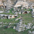 Palaeolithic caves. Matera. Basilicata. — Stock Photo #4774448