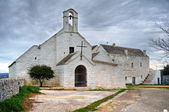 St. Maria di Barsento Church. Noci. Apulia. — Stock Photo