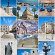 Bari Collage. — Stock Photo