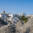 Trulli. Alberobello. Apulia. - Stock Photo