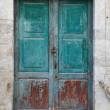 Wooden door. — Stockfoto