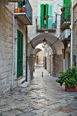 Alleyway. Giovinazzo. Apulia. — Stock Photo