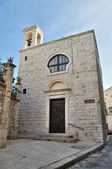 St. Maria degli Angeli Church. Giovinazzo. Apulia. — Stock Photo