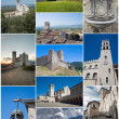 Assisi Collage. — Stock Photo