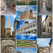 Perugia collage. — Stock Photo
