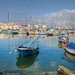 Stock Photo: View of Bisceglie seaport. Apulia.