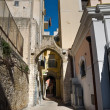 Alleyway. Bari. Apulia. — Stock Photo