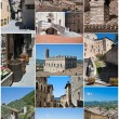 Gubbio collage. — Stock Photo