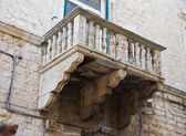 Historic balcony. — Stock Photo