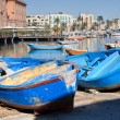 Stock Photo: Boats moored at tourist port of Bari. Apulia.