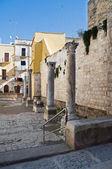 St .Maria del Buon Consiglio Square. Bari. Apulia. — Stock Photo