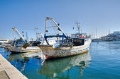 Fishing trawlers. — Stock Photo