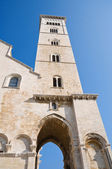 Belltower Cathedral. Trani. Apulia. — Stock Photo