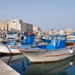 Stock Photo: Panoramic view of Trani seaport. Apulia.