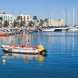 Stock Photo: Panoramic view of Bari seaport. Apulia.
