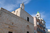 St. Maria del Carminiello Church. Giovinazzo. Apulia. — Stock Photo