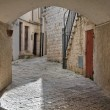 Alleyway. Putignano. Apulia. — Stock Photo