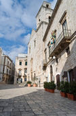 Plebiscito Square. Putignano. Apulia. — Stock Photo