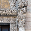 Lion Portal. St. Nicholas Basilica. Bari. Apulia. — Stock Photo #5103280
