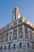 Historical palace. Bari. Apulia. — Stock Photo