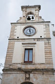 Clocktower. Putignano. Apulia. — Stock Photo