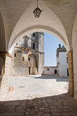 St. Vito martyr Abbey. Polignano a Mare. Apulia. — Stock Photo