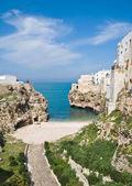 Lama Monachile. Polignano a Mare. Apulia. — Stock Photo