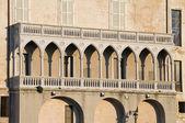 παλάτι martinelli. monopoli. απουλία. — Φωτογραφία Αρχείου