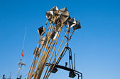 Detail of a fishing boat. — Stock Photo